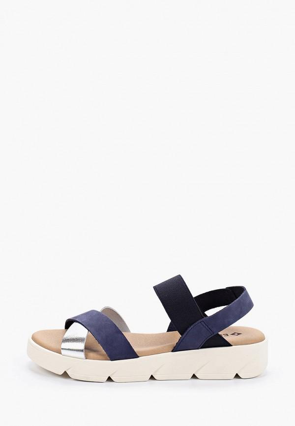 женские сандалии el tempo, синие