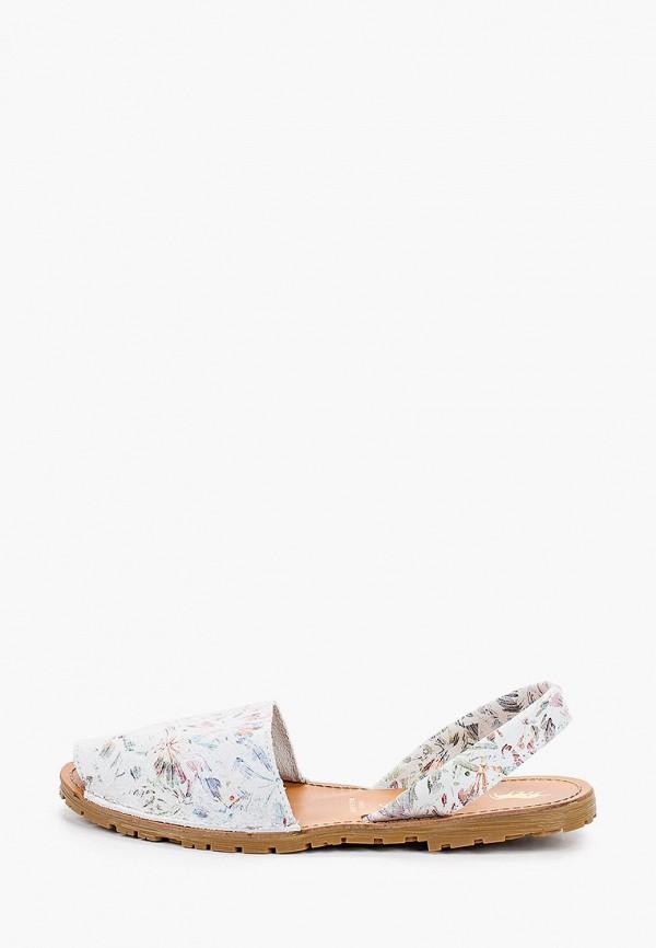 женские сандалии el tempo, белые