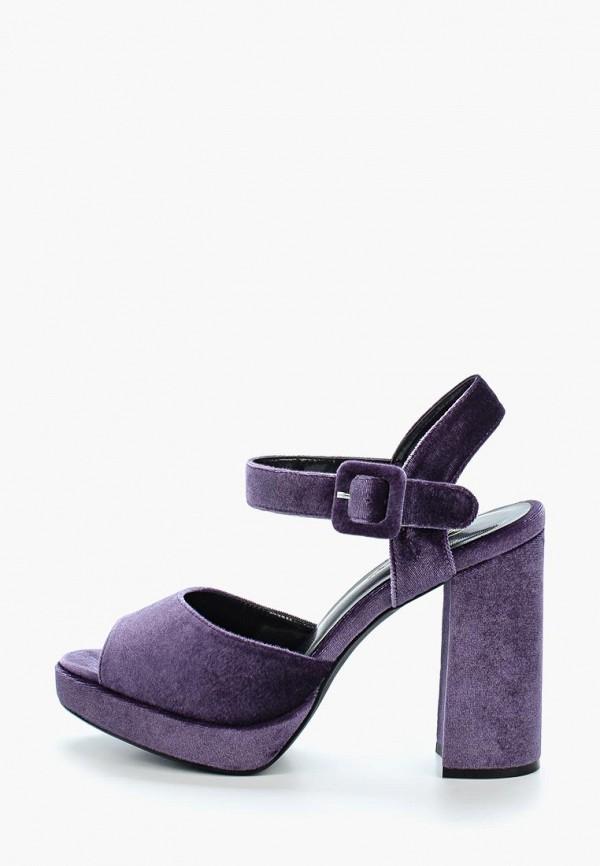 женские босоножки elche, фиолетовые