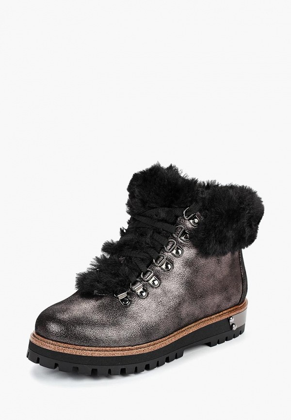 женские ботинки elche, коричневые