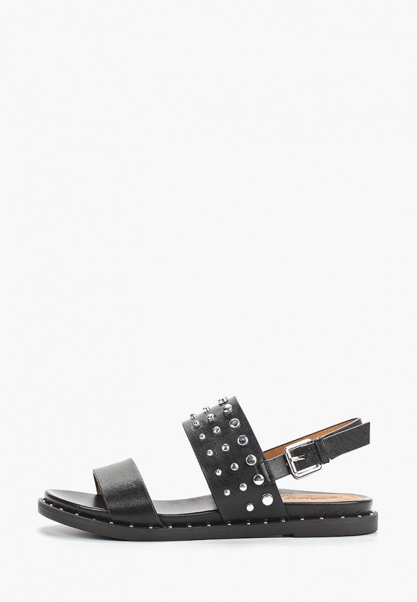 женские сандалии elche, черные