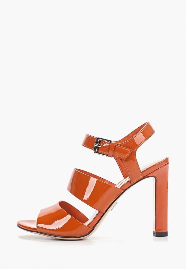 женские босоножки elche, оранжевые