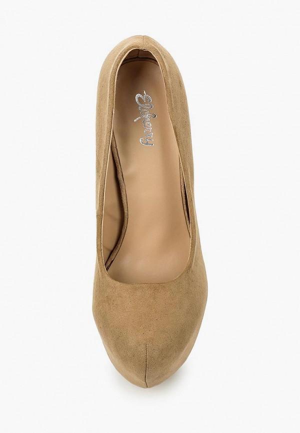 Фото 4 - женские туфли Elche бежевого цвета