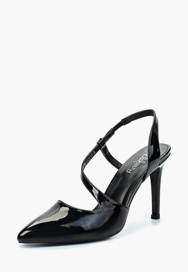 женские туфли elche, черные