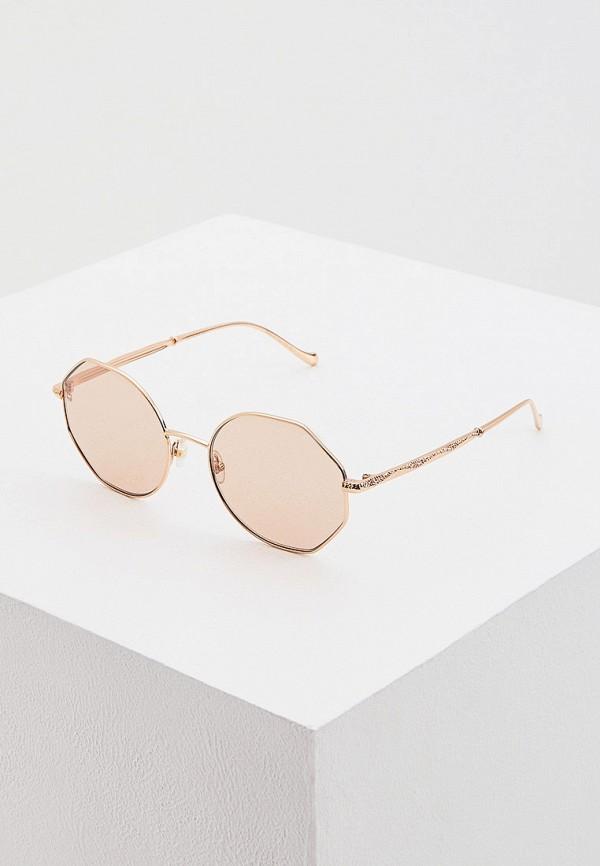 женские солнцезащитные очки elie saab, золотые