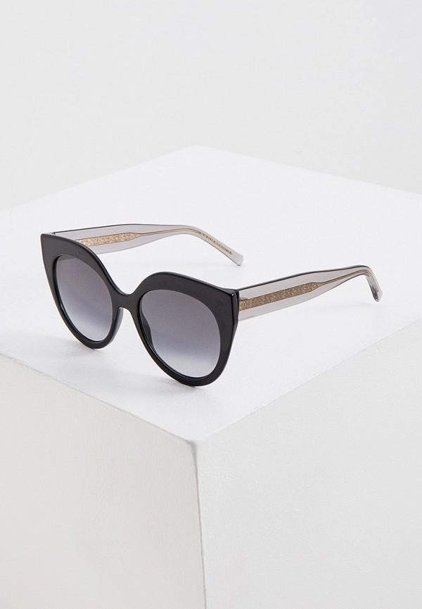 женские солнцезащитные очки elie saab, черные
