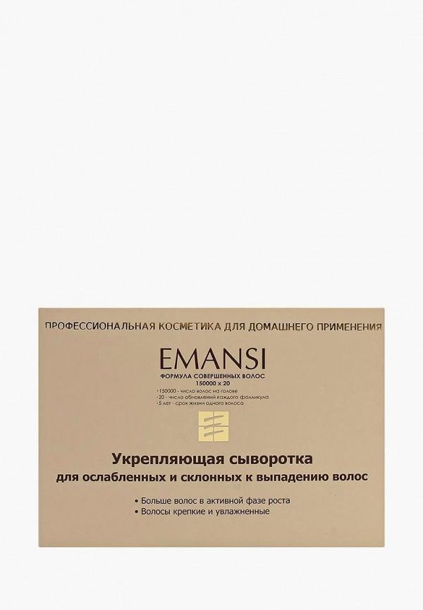 Сыворотка для волос Emansi укрепляющая для ослабленных и склонных к выпадению волос (несмываемая), Формула совершенных волос = 150000х20, 10 мл х 10