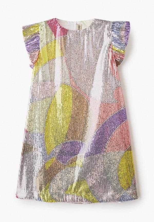 платье emilio pucci для девочки, разноцветное
