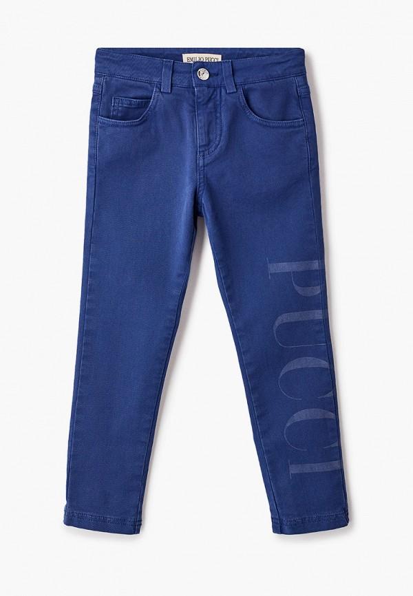 брюки emilio pucci для девочки, синие