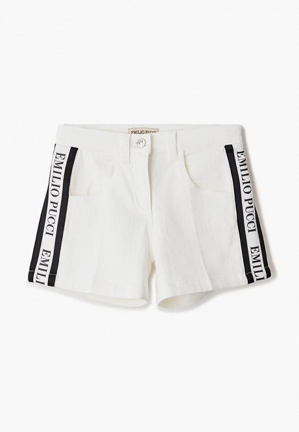 шорты emilio pucci для девочки, белые