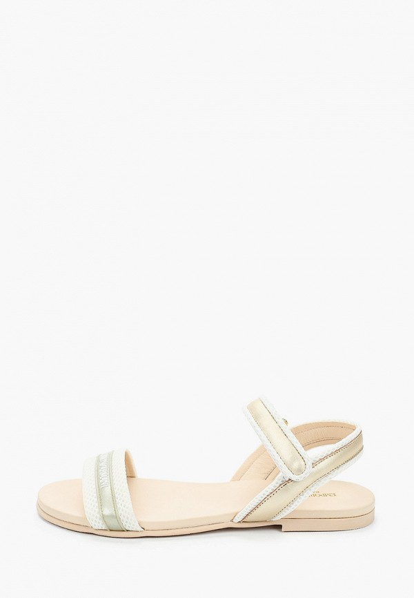 сандалии emporio armani для девочки, золотые