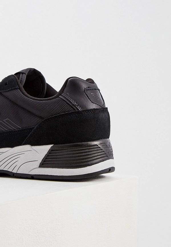 Фото 2 - мужские кроссовки Emporio Armani черного цвета