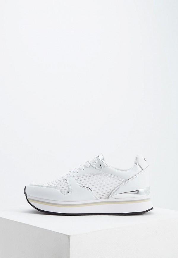 женские кроссовки emporio armani, белые