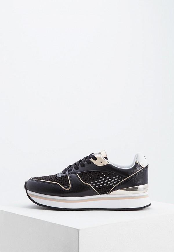 женские кроссовки emporio armani, черные