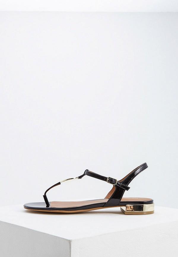 женские сандалии emporio armani, черные