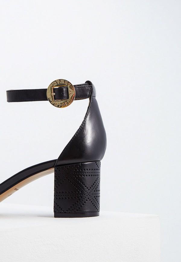 Фото 3 - женские босоножки Emporio Armani черного цвета