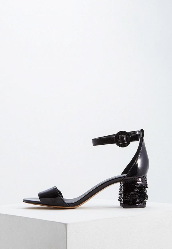 женские босоножки emporio armani, черные
