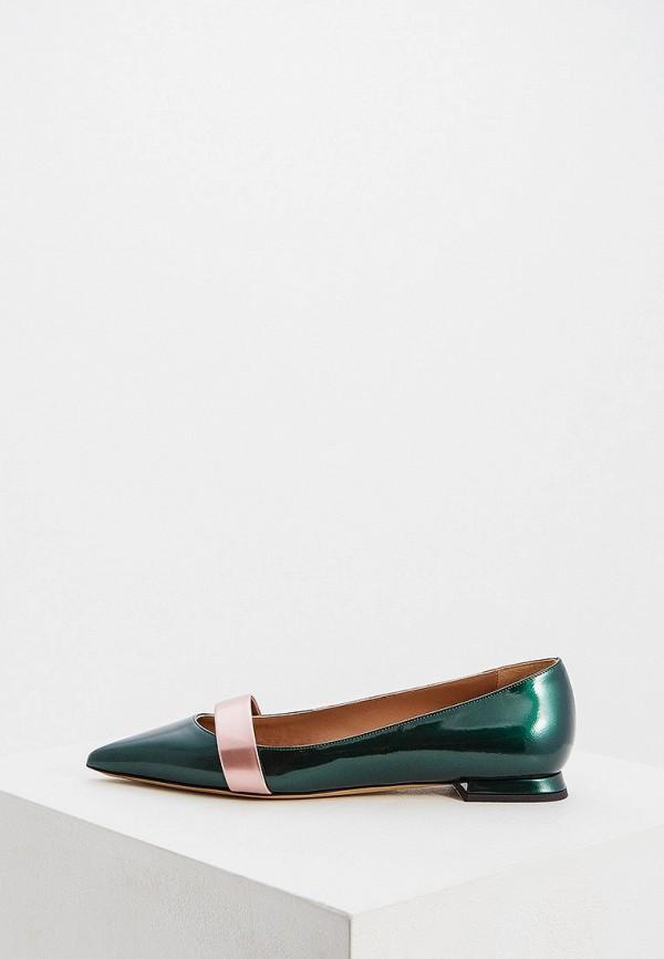 женские туфли emporio armani, зеленые