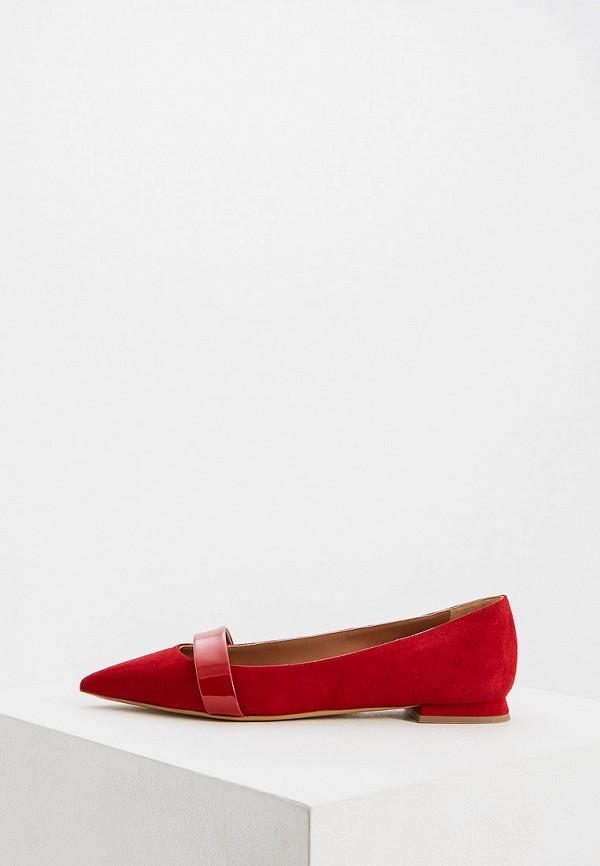 женские туфли emporio armani, красные