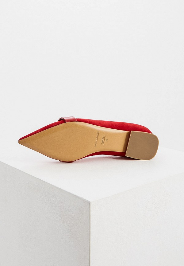 Фото 3 - женские туфли Emporio Armani красного цвета
