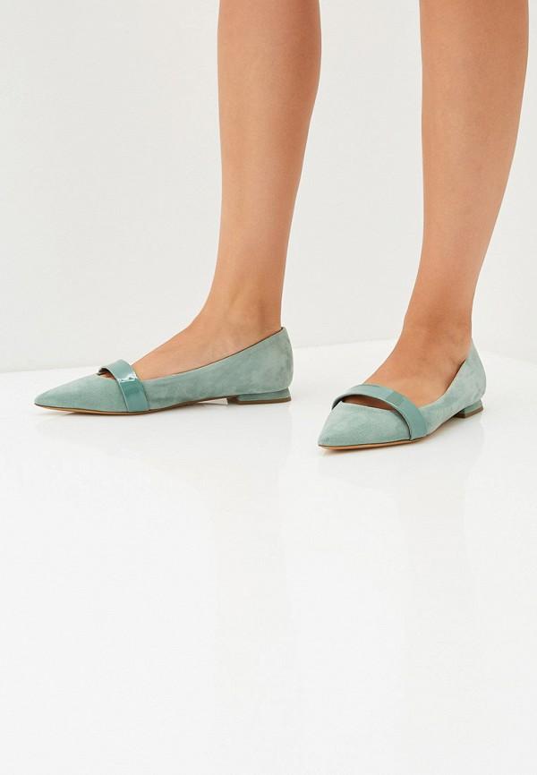Фото 6 - женские туфли Emporio Armani бирюзового цвета