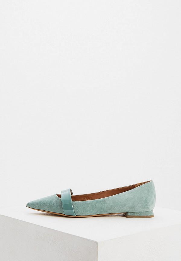 Фото - женские туфли Emporio Armani бирюзового цвета