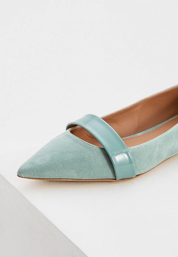 Фото 2 - женские туфли Emporio Armani бирюзового цвета