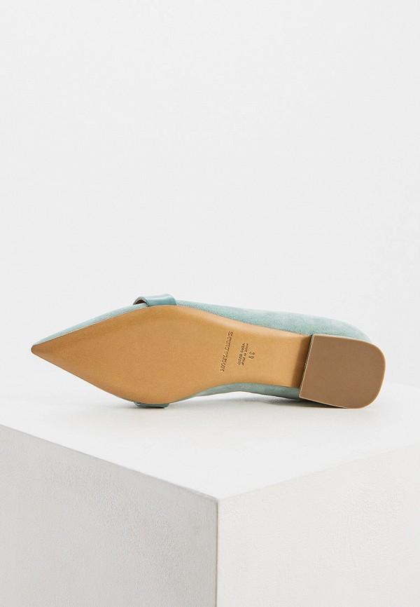 Фото 3 - женские туфли Emporio Armani бирюзового цвета