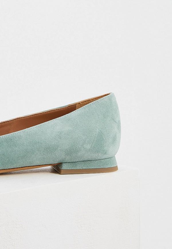 Фото 4 - женские туфли Emporio Armani бирюзового цвета