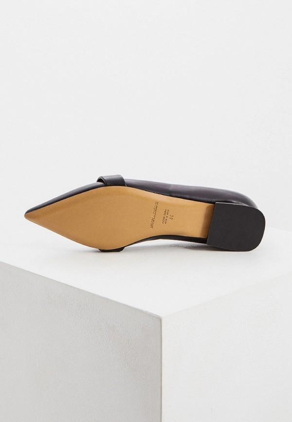 Фото 3 - женские туфли Emporio Armani черного цвета