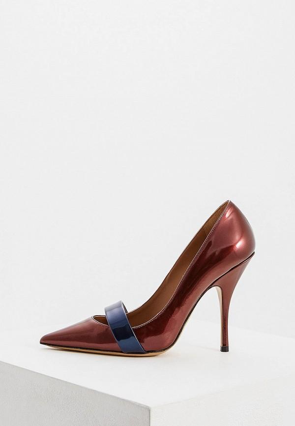 женские туфли emporio armani, бордовые
