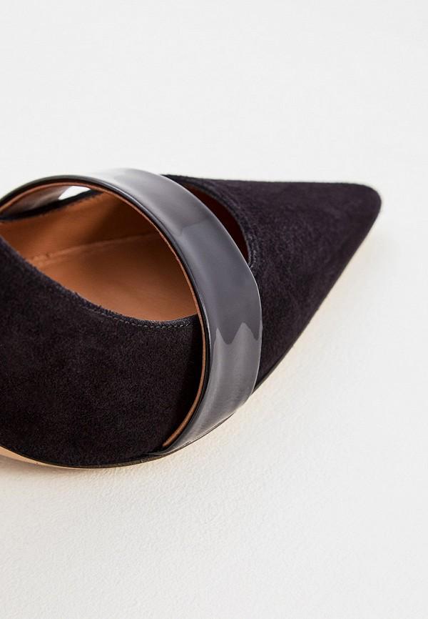 Фото 4 - женские туфли Emporio Armani черного цвета