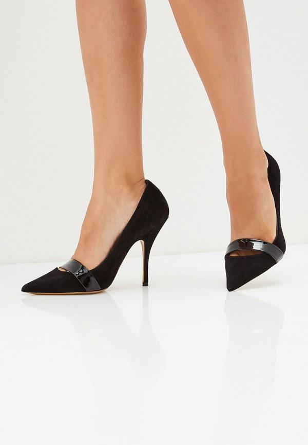 Фото 6 - женские туфли Emporio Armani черного цвета