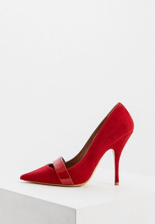 Фото - женские туфли Emporio Armani красного цвета
