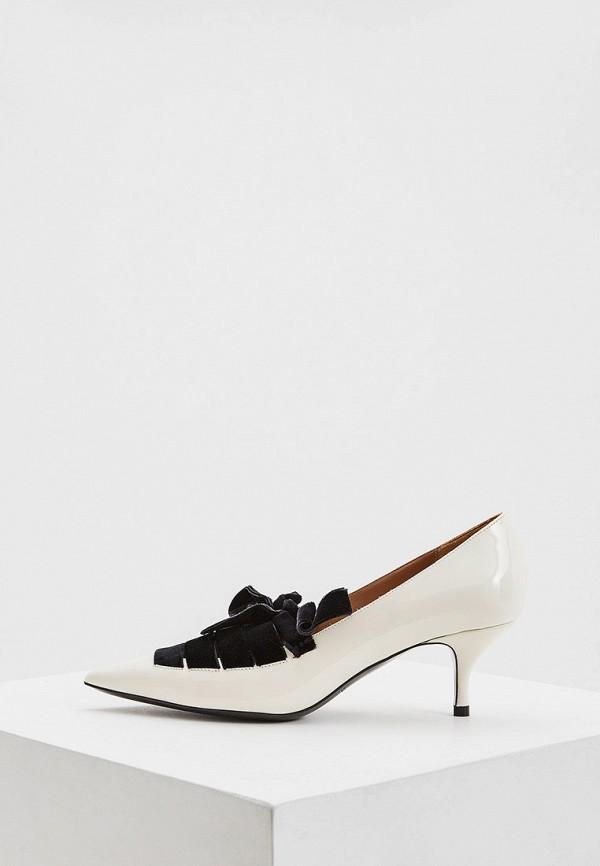 женские туфли emporio armani, белые