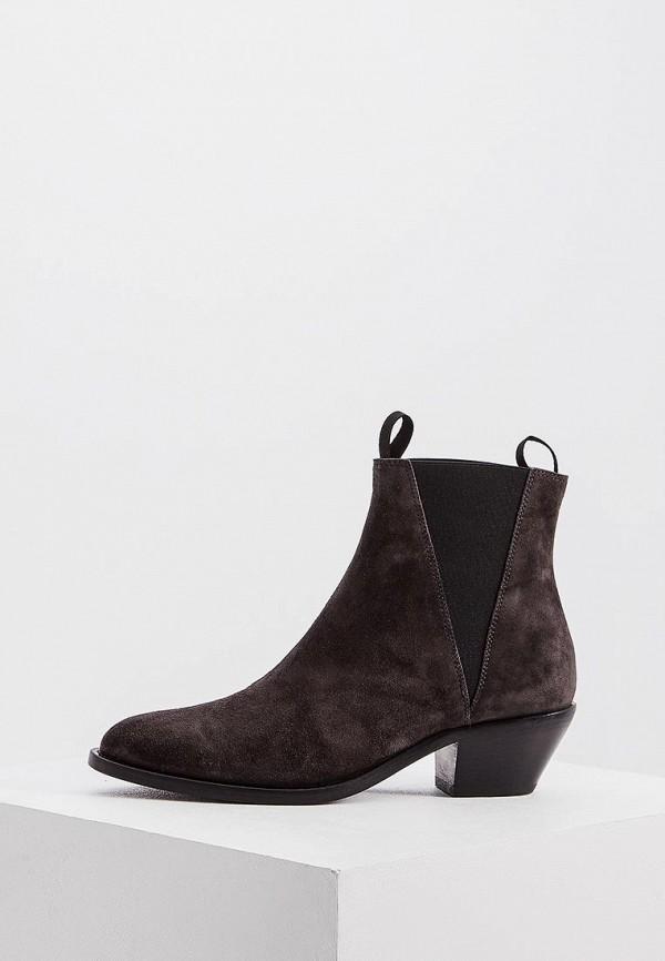 женские ботинки emporio armani, серые