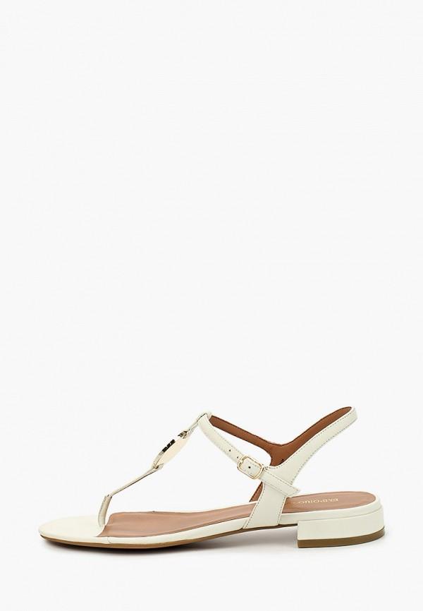 женские сандалии emporio armani, белые