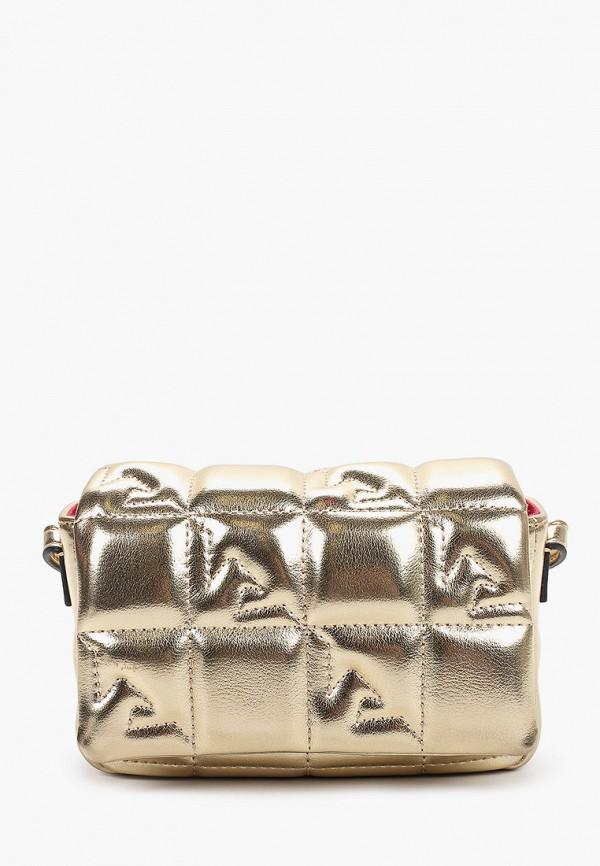 сумка emporio armani для девочки, золотая