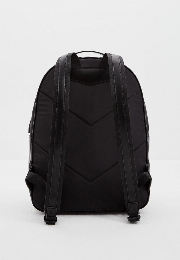 Фото 2 - мужской рюкзак Emporio Armani черного цвета