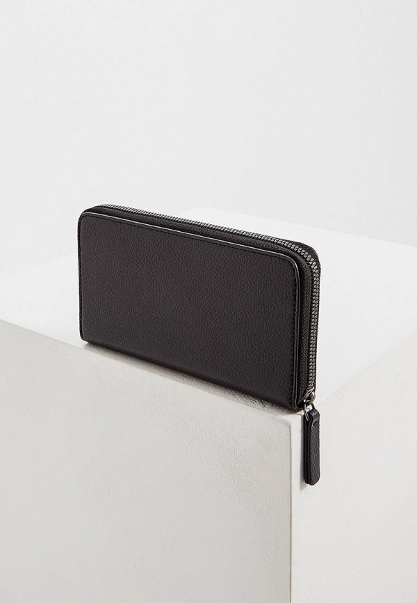 Фото 2 - мужской кошелек или портмоне Emporio Armani черного цвета