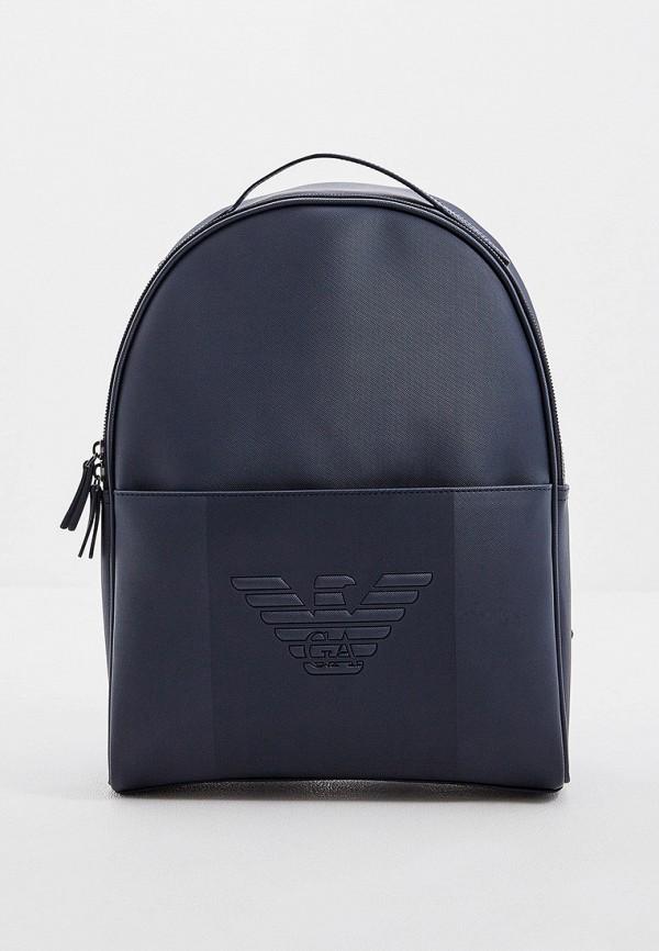 мужской рюкзак emporio armani, синий