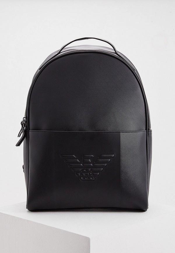 мужской рюкзак emporio armani, черный