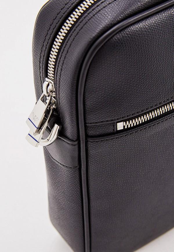 Фото 4 - мужскую сумку Emporio Armani черного цвета