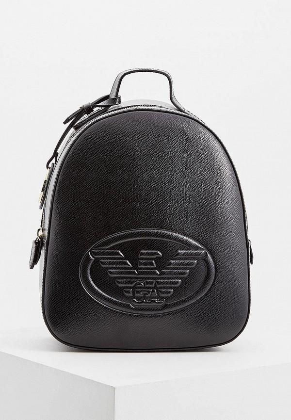 женский рюкзак emporio armani, черный