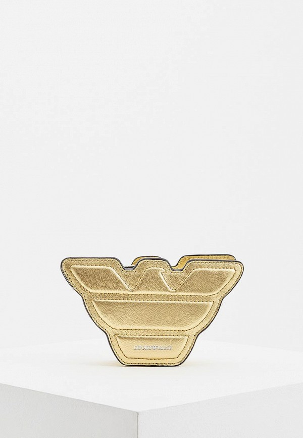 женская сумка emporio armani, золотая