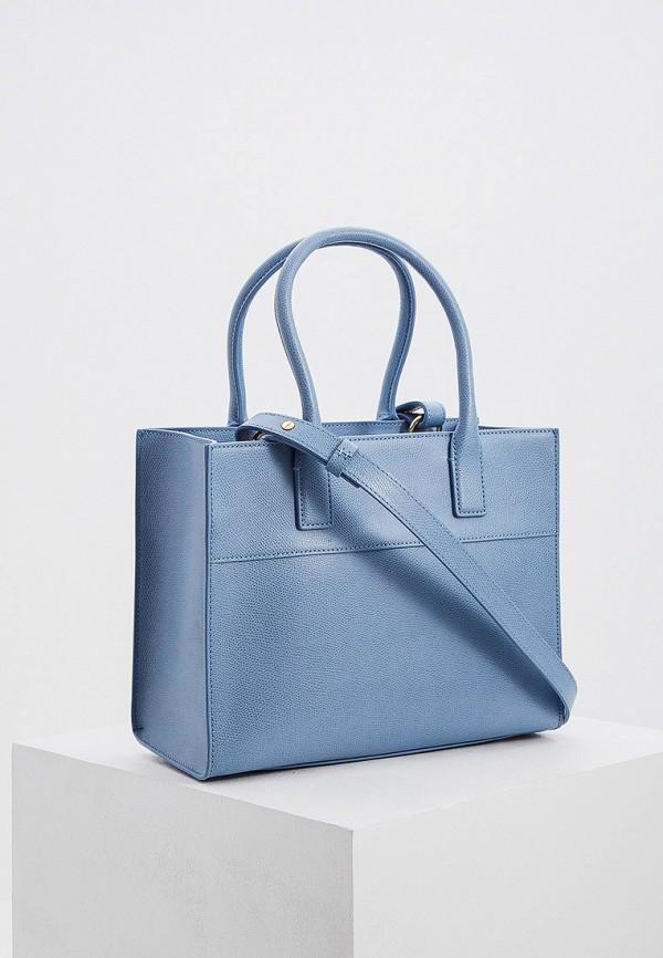Фото 2 - женскую сумку Emporio Armani голубого цвета
