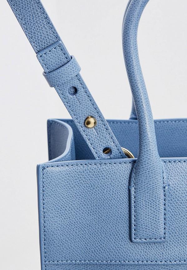 Фото 3 - женскую сумку Emporio Armani голубого цвета