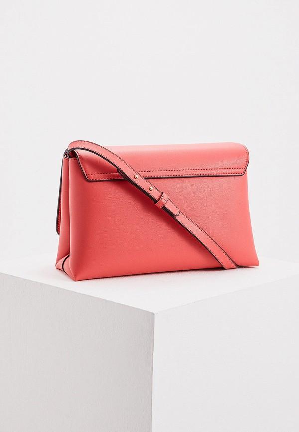 Фото 2 - женскую сумку Emporio Armani розового цвета