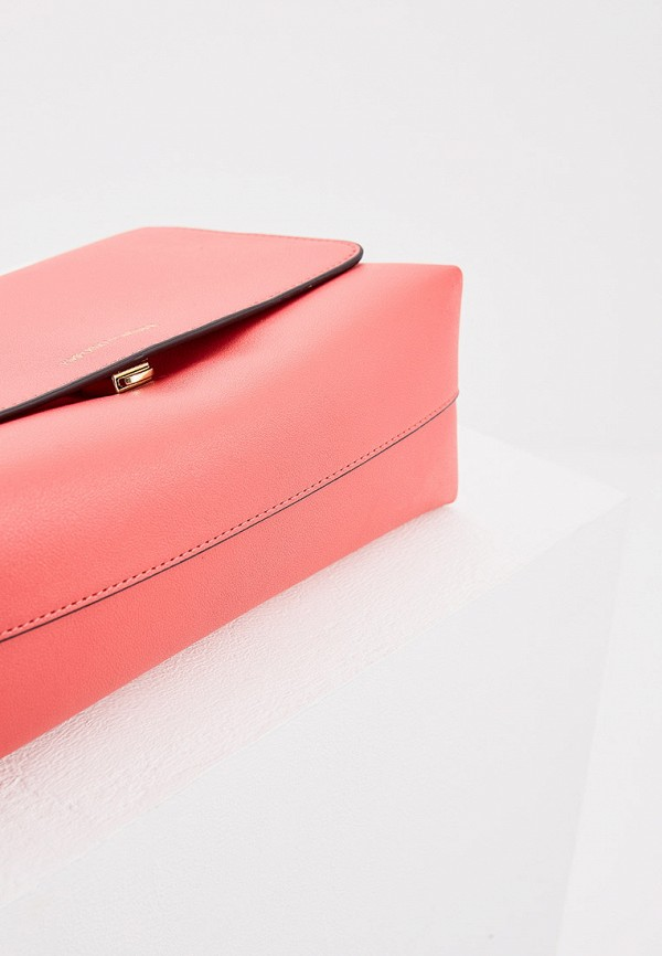 Фото 5 - женскую сумку Emporio Armani розового цвета
