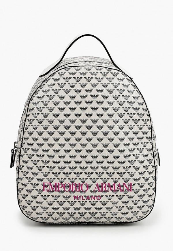 женский рюкзак emporio armani, серый